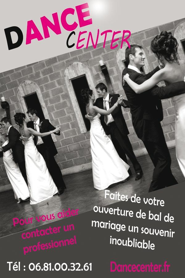 Cours de danse mariage